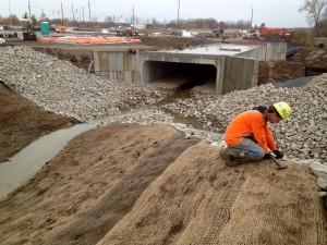 Jute Mesh Erosion Control