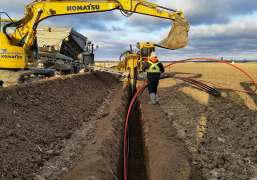 Windfarm-collector-system-install